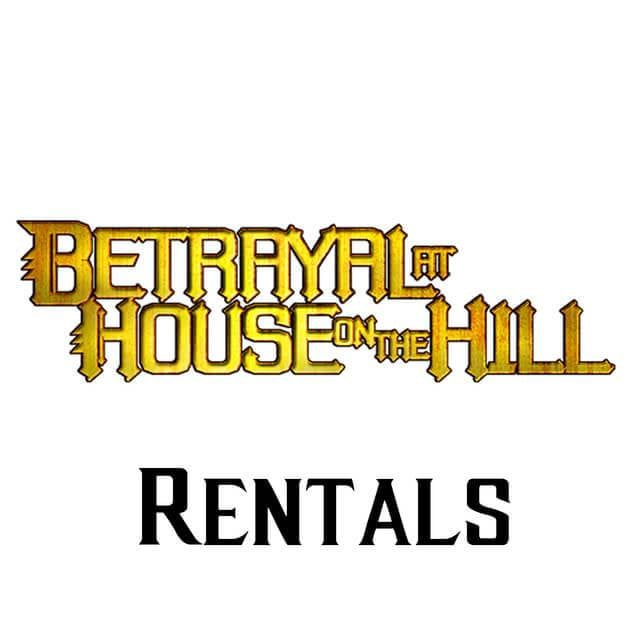 Betrayal at House on the Hill - RENTAL