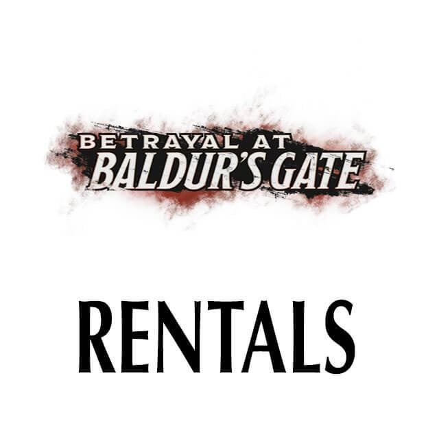 Betrayal at Baldur's Gate - RENTAL