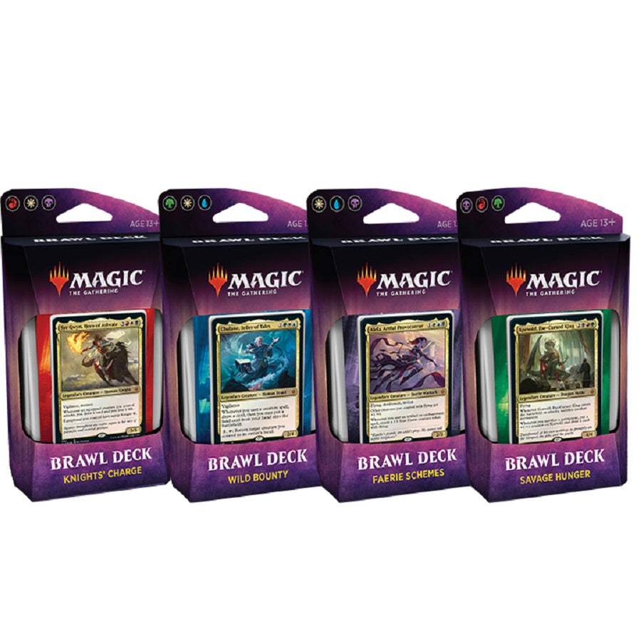 Throne Of Eldraine Brawl Decks Set of 4 | Affinity Games
