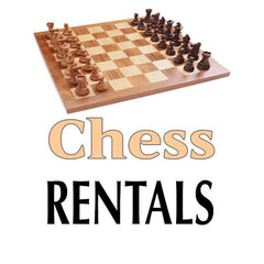 Chess and Checkers -  RENTAL