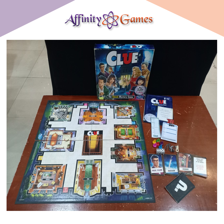 Clue(Used Copy) | Affinity Games