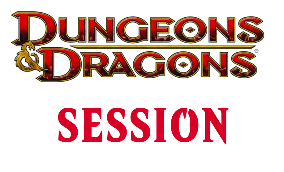 Dungeons and Dragons Adventure Session