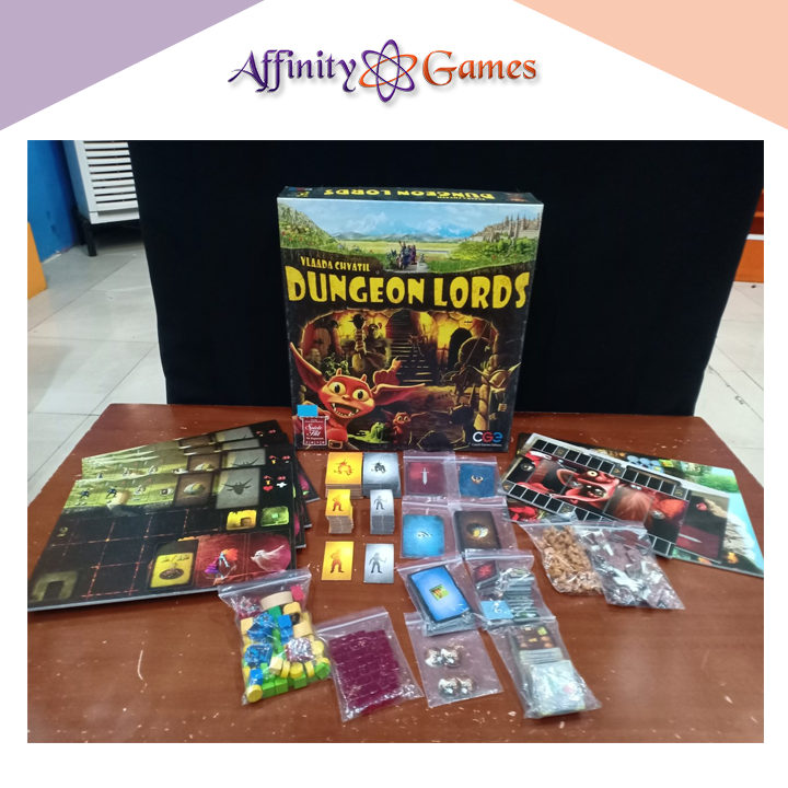 Dungeons Lord(Used Copy) | Affinity Games