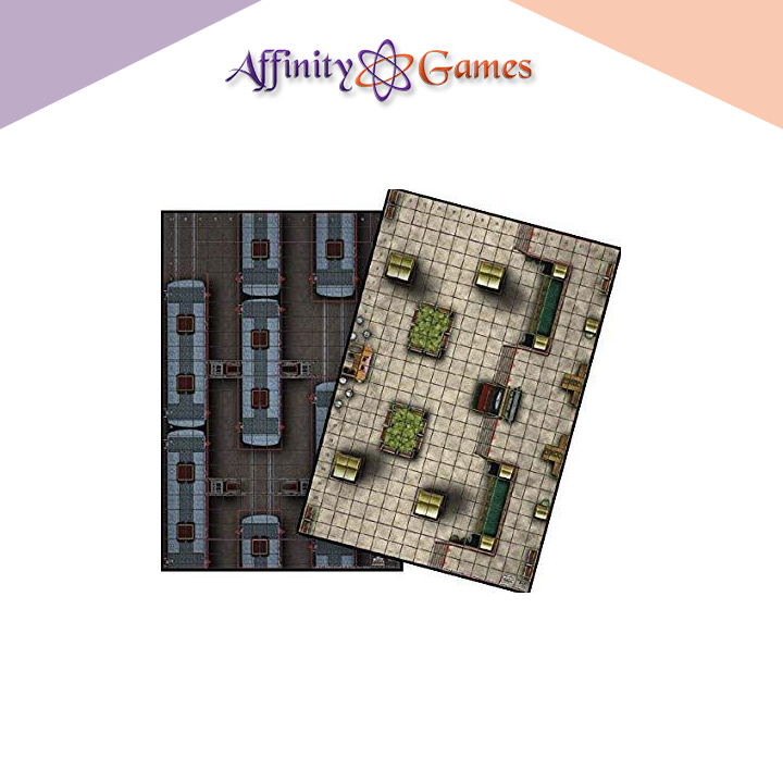 Heroclix Map - Trainyard