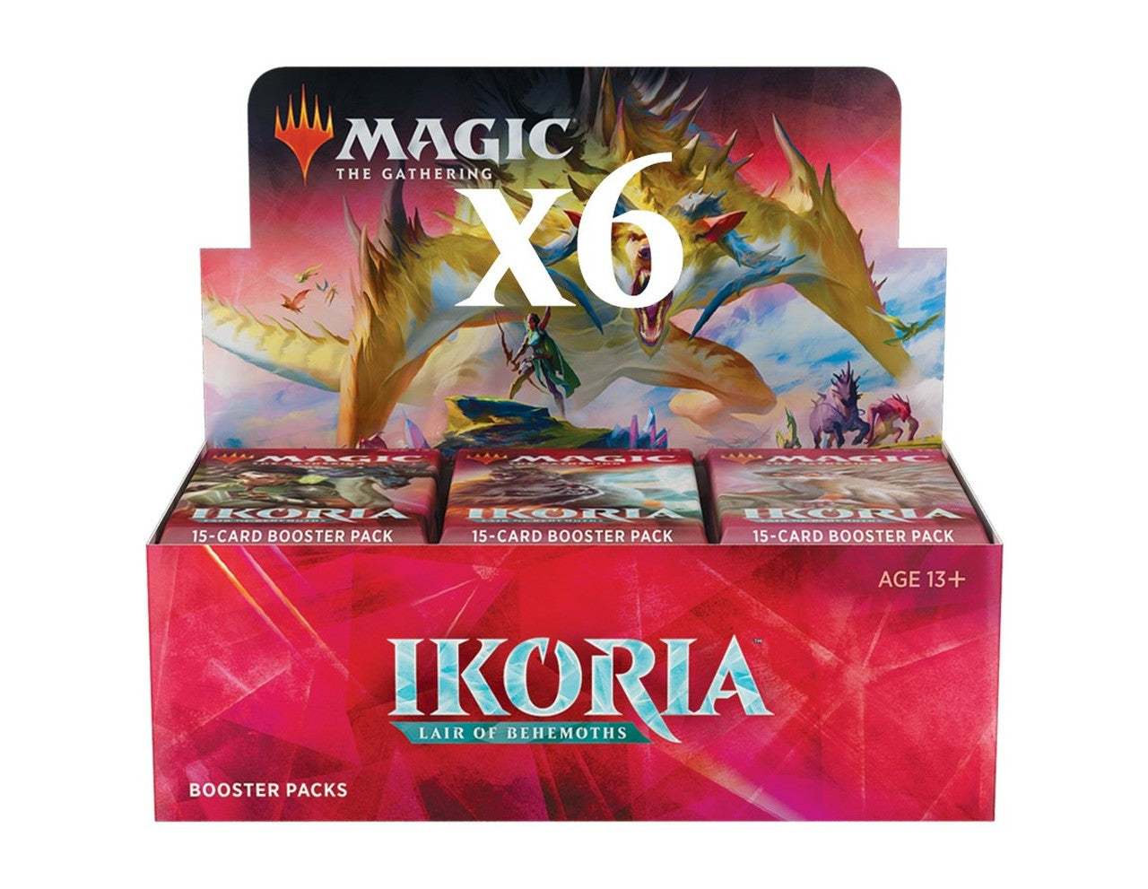 Ikoria: Lair of Behemoths Draft Booster Case (6 boxes) | Affinity Games