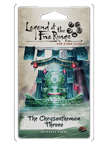 Legend of the 5 Rings Dynasty Pack - The Chrysanthemum Throne