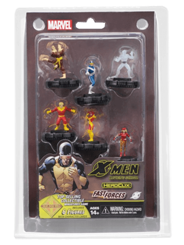 Marvel HeroClix: X-Men Xavier's School Fast Forces Pack