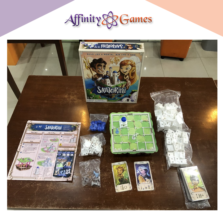 Santorini(Used Copy) | Affinity Games