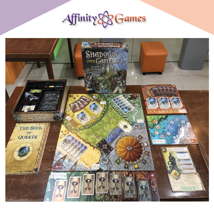 Shadows over Camelot(Used Copy) | Affinity Games