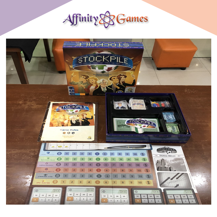 Stockpile(Used Copy) | Affinity Games