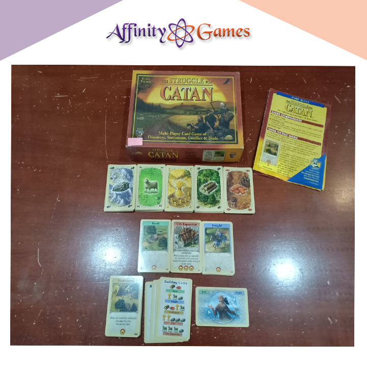The Struggle For Catan(Used Copy) | Affinity Games