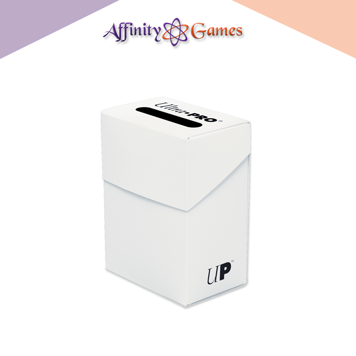 Ultra Pro Deck Box - White | Affinity Games