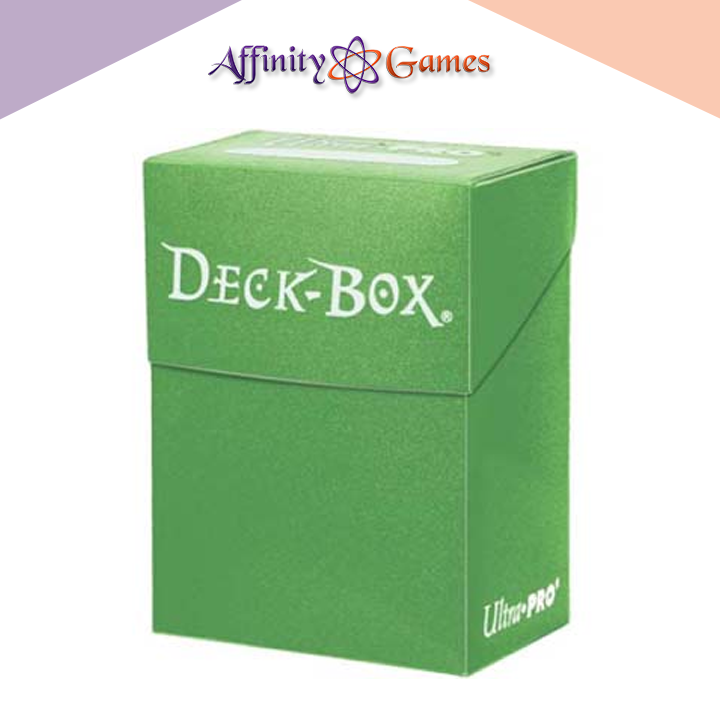 Ultra Pro Deck Box - Lime Green | Affinity Games