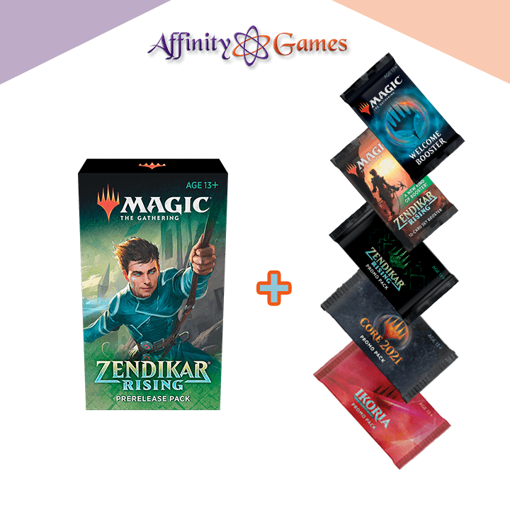 Magic: The Gathering | Zendikar Rising | Prerelease Pack + Promo Packs