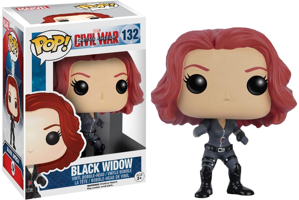 FUNKO POP! BLACK WIDOW (CW)