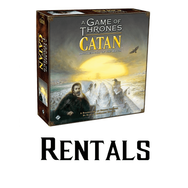 Catan A game of Thrones - RENTAL
