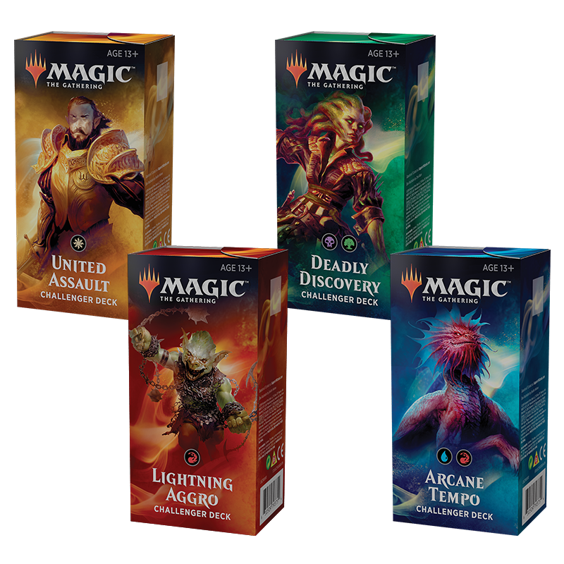 Challenger Decks 2019 Set of 4