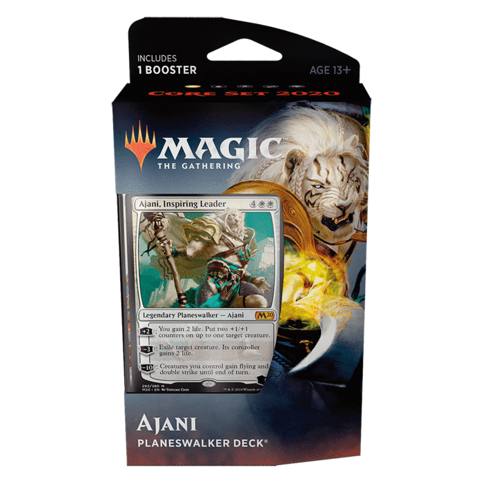 Core Set 2020 Planeswalker Deck - Ajani