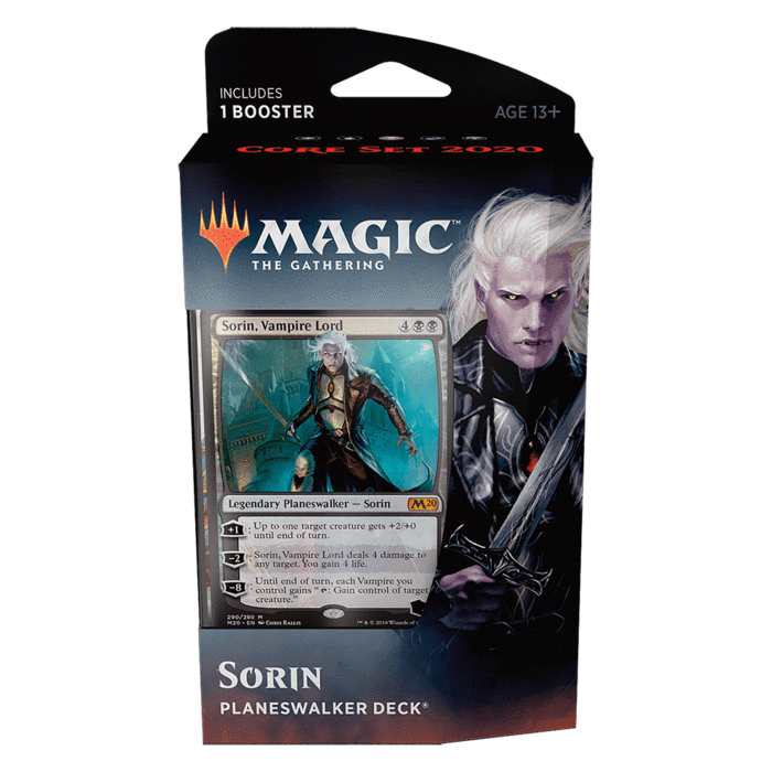 Core Set 2020 Planeswalker Deck - Sorin