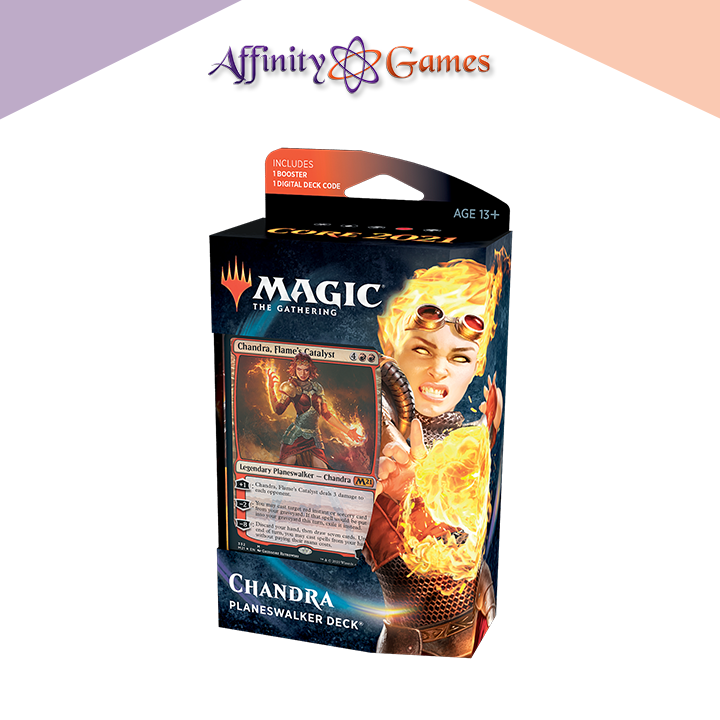 Magic: The Gathering Core Set 2021 Planeswalker Deck Chandra Nalaar | Affinity Games