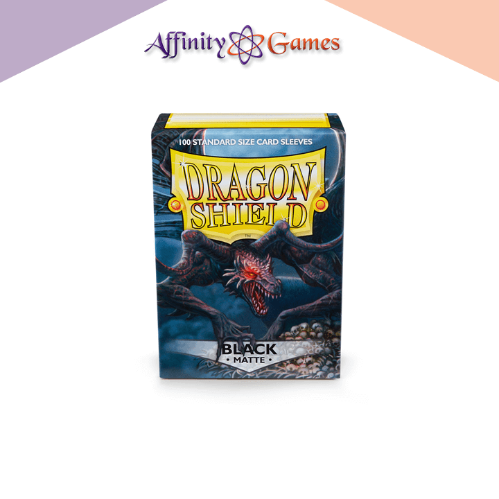 Dragon Shield | Matte | 100ct | Black