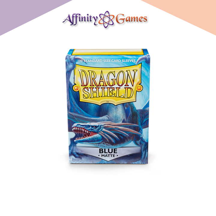 Dragon Shield | Matte | 100ct | Blue