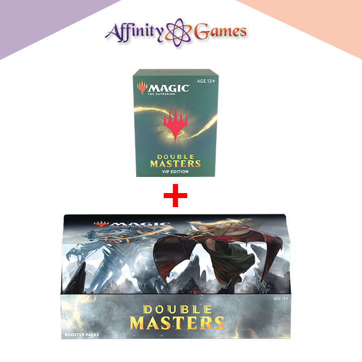 Magic: The Gathering | Double Masters Booster Box + 1 VIP Booster Pack