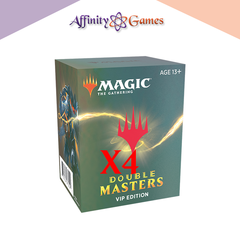 Magic: The Gathering | Double Masters | Booster VIP Case (4 Packs)