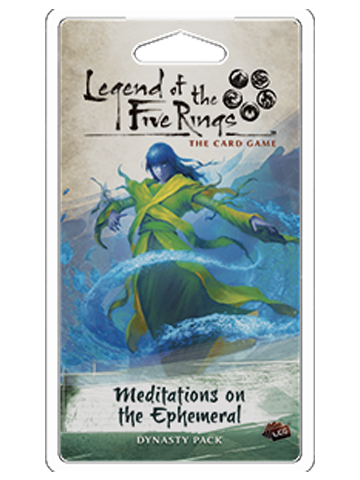 Legend of the 5 Rings Dynasty Pack - Meditations of the Ephemeral