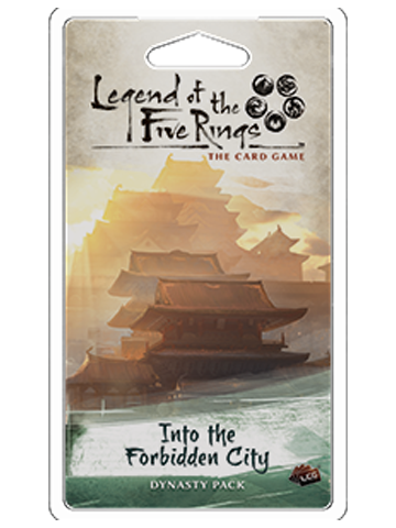 Legend of the 5 Rings Dynasty Pack - Into the Forbidden City