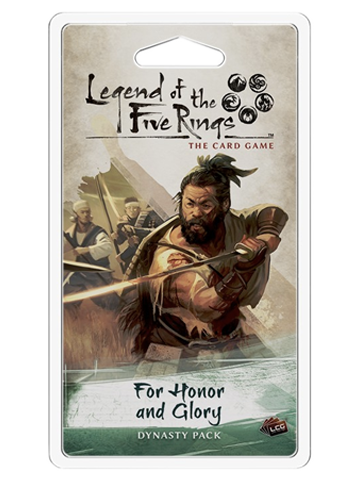 Legend of the 5 Rings Dynasty Pack - For Honor and Glory