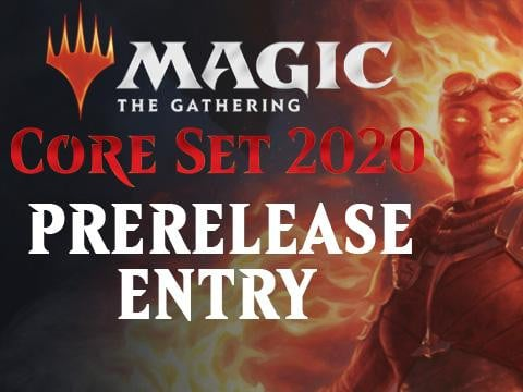Core Set 2020 Prerelease Entry
