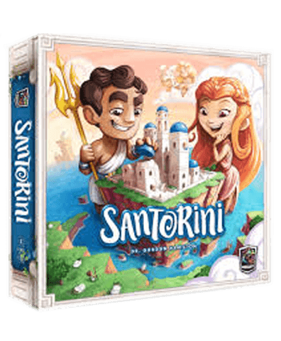 Santorini Spinmaster Edition | Affinity Games