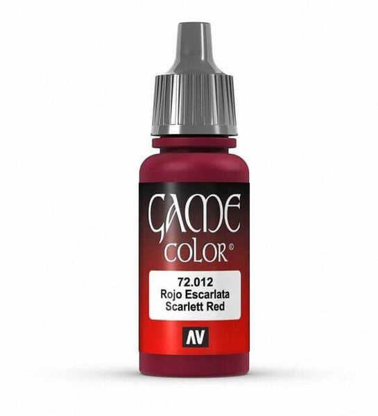 72012 Scarlet Red,  17 ml