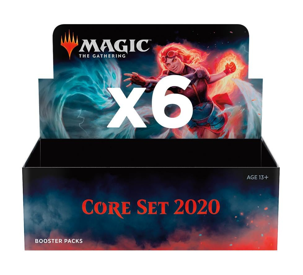 **PREORDER NOW! Release: July 12, 2019** Core Set 2020 Booster Box Case PHP31500