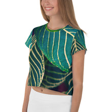 Load image into Gallery viewer, All-Over Print Crop Tee