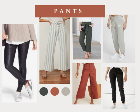 pants spring style consignment collage