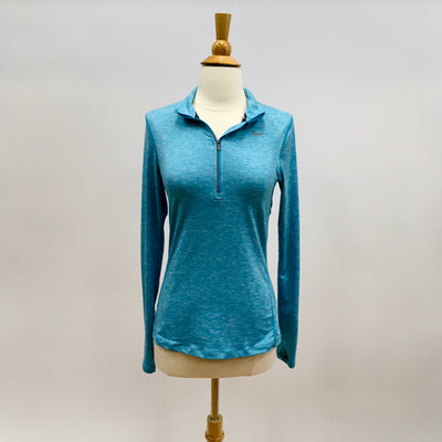 Nike Turquoise Size XS Active Top