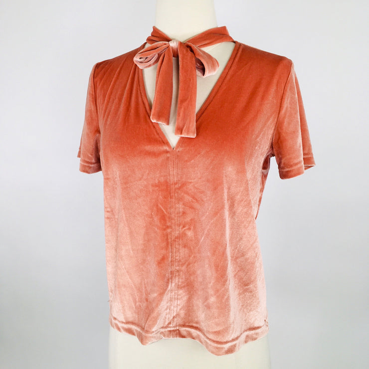 Madewell Peach Size S Top