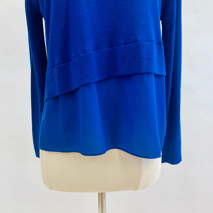 Hoss Blue Size XS Sweater