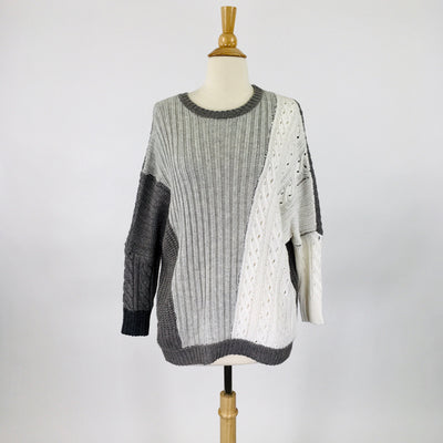 Pink Martini Grey white Size S Sweater