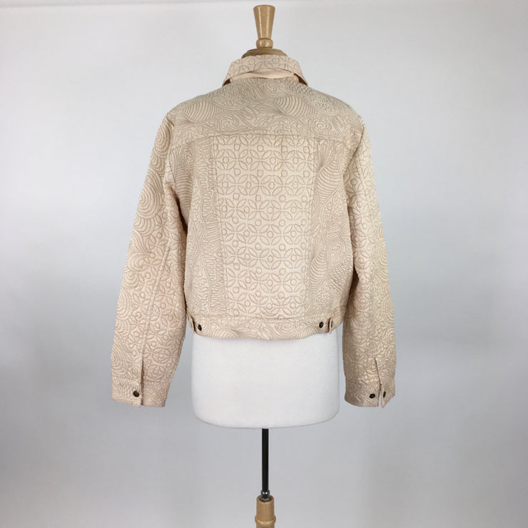 Anthropologie Peach Size XL Jacket