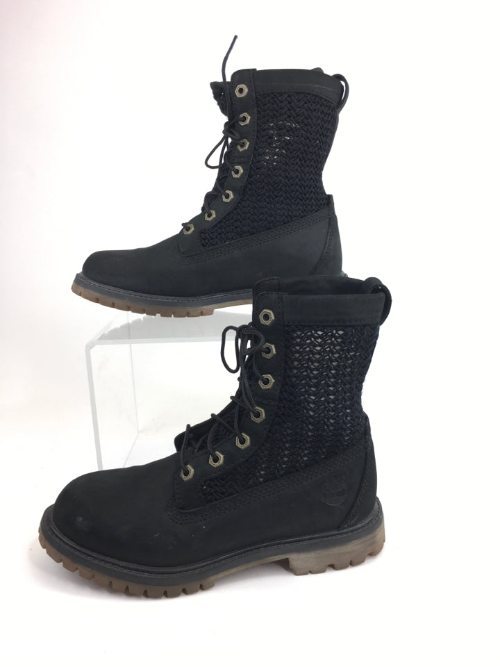 Timberland Black Size 6 SHOES Boot