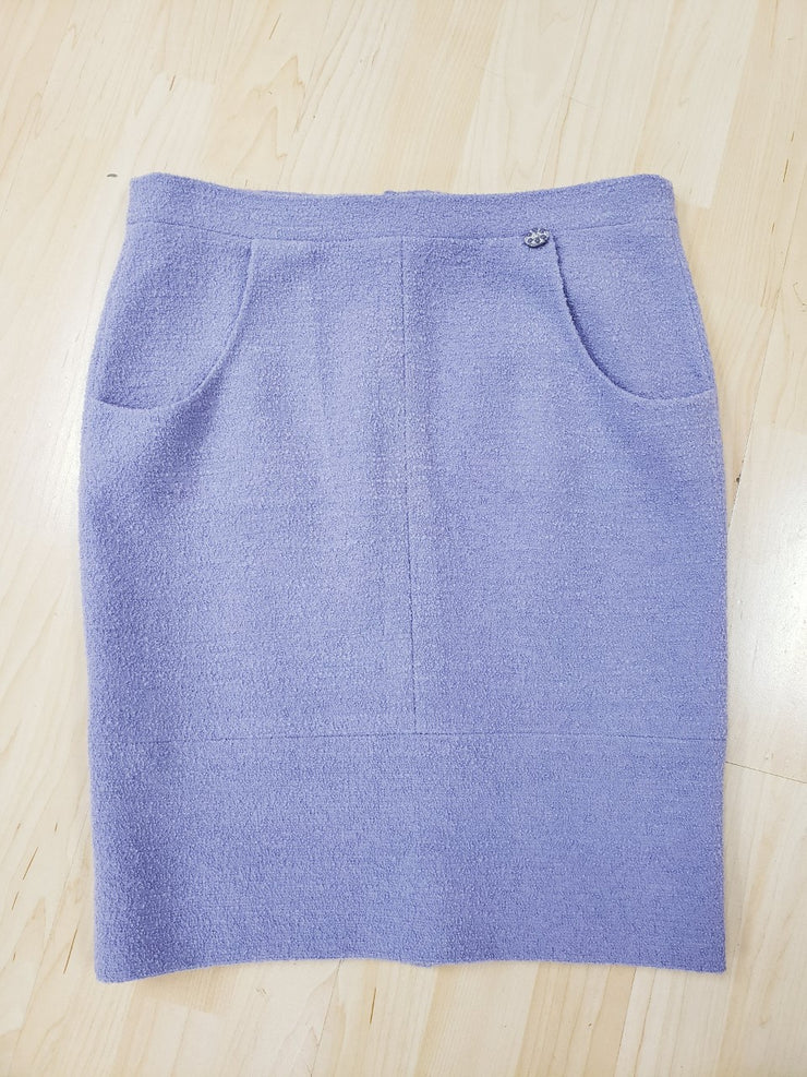 Chanel Lilac Size 40 Skirt