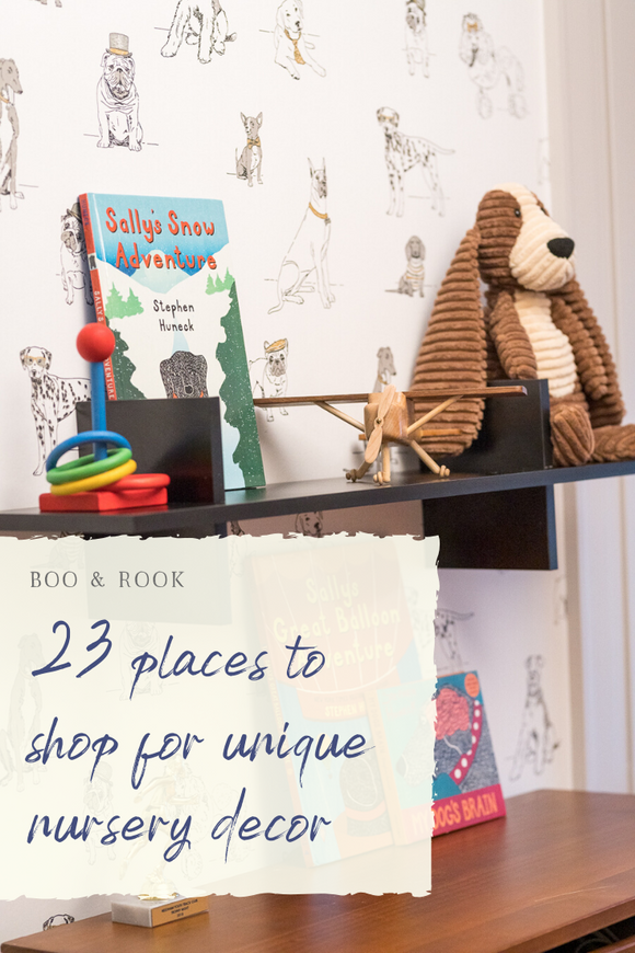 23 places to shop for unique nursery decor