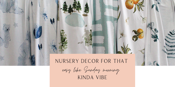 boo and rook nursery decor for that easy like sunday morning kinda vibe, crib sheets, blankets, artwork, pillows, nursery design services, and more