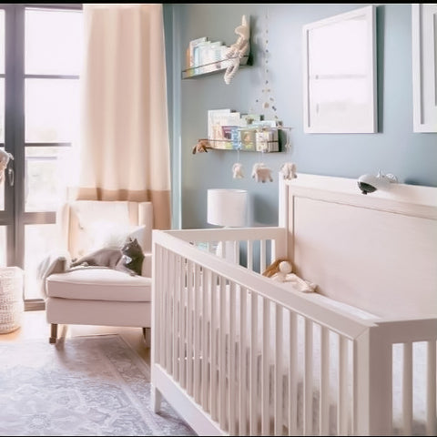 Boo & Rook 10 classic modern gender neutral nursery paint colors, sherwin williams, nursery design