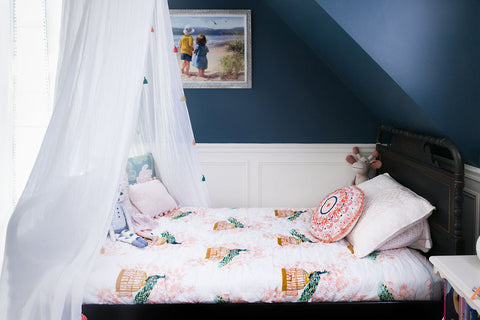 Boo & Rook big girl room, baby girl nursery, sherwin williams, classic modern gender neutral nursery paint colors