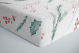 boo and rook, holly jolly baby bedding, holiday collection, crib sheets, newborn sherpa blanket, toddler minky blanket