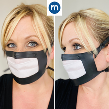 Load image into Gallery viewer, Masksealz OG - re-usable silicone face mask with self-adhering replaceable filter